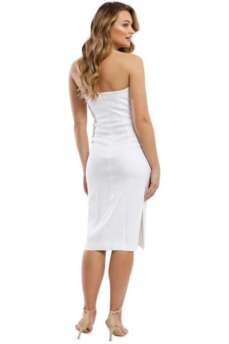 87e5e15f04e06 Eva Dress in White by Milly for Hire | GlamCorner