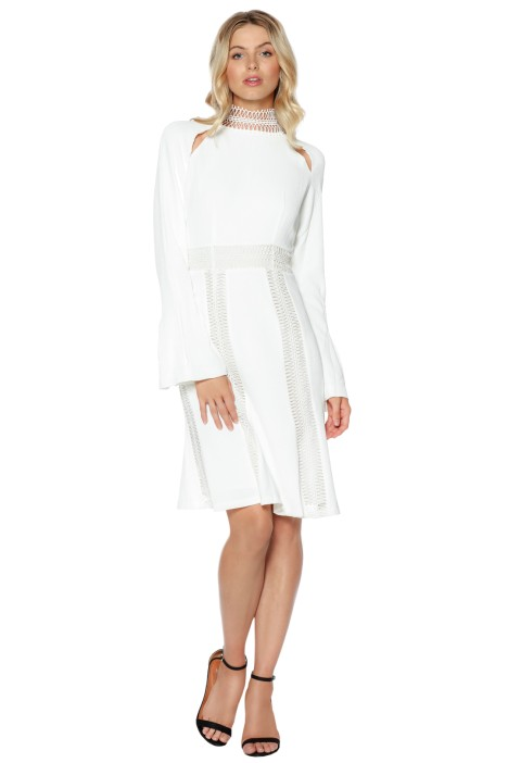 Ministry of Style - Azzedine Dress - Ivory - Front