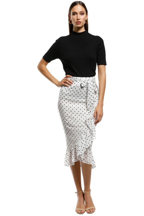 Ministry of Style - Illusion Skirt - Ivory - Front
