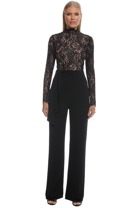 Misha Collection - Allegra Pantsuit - Black - Front
