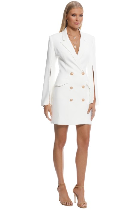 399bea9e734 Ariel Blazer Dress in Ivory by Misha Collection for Rent