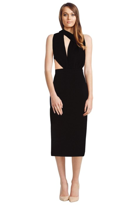 Misha Collection - Helena Dress - Black - Front