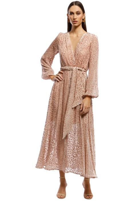 Misha Collection - Kelsie Dress - Leopard - Front