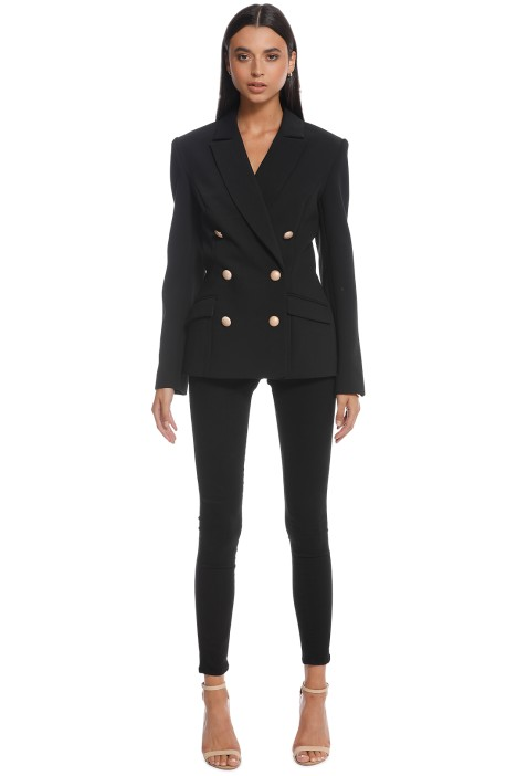 Misha Collection - Leona Blazer - Black - Front