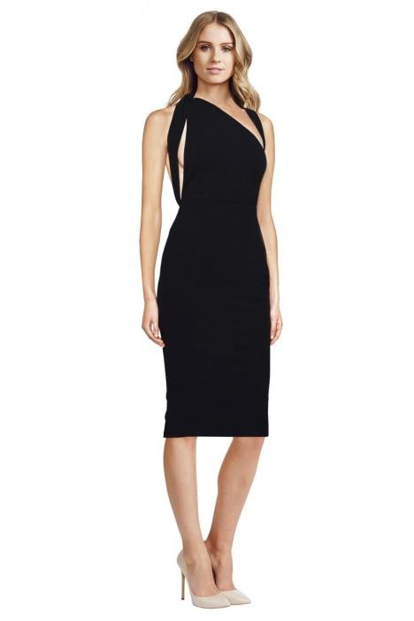 Misha Collection - Misu Dress - Black - Front