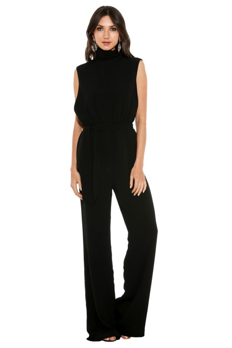 Misha Collection - Ottavia Pantsuit - Front - Black