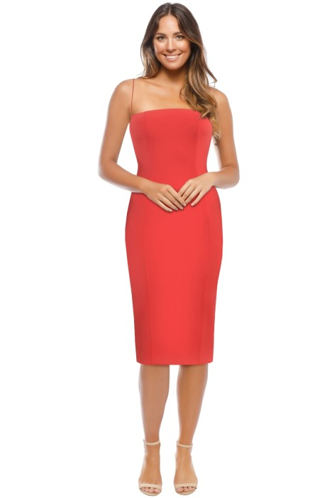 Misha Collection - Sophie Dress - Red - Front