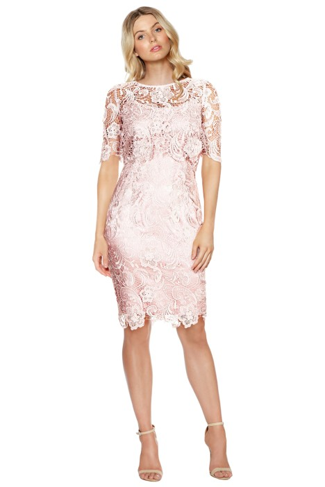 Montique - Peggy Two Piece Lace Dress - Front
