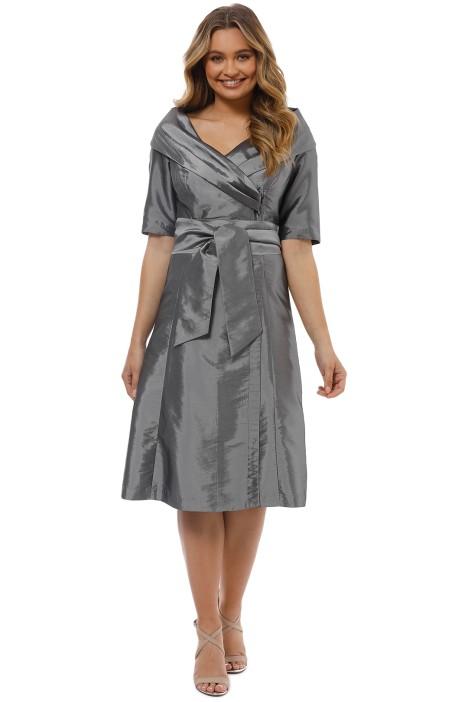 Montique - Veronica Taffeta Dress - Front