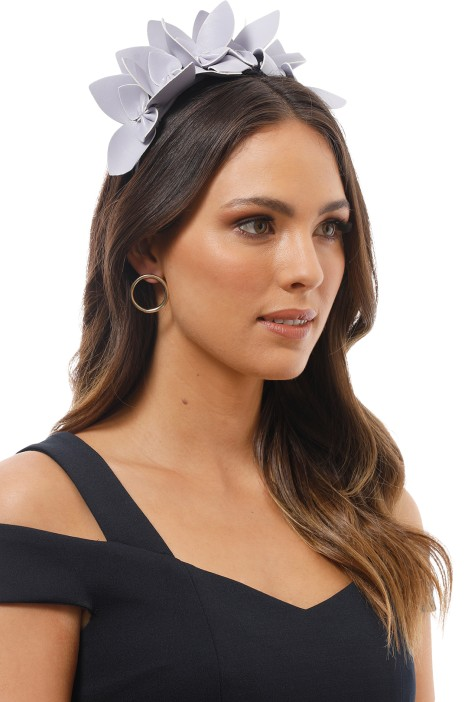 Morgan & Taylor - Adele Fascinator - Lilac - Product Image