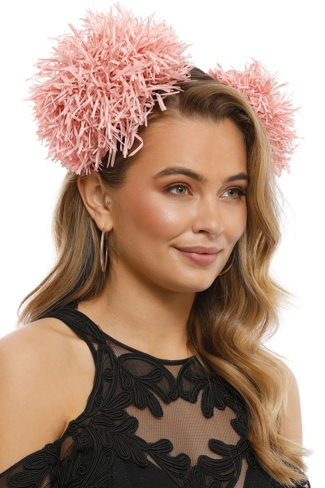 Morgan & Taylor - Carmen Fascinator - Pink - Side Model
