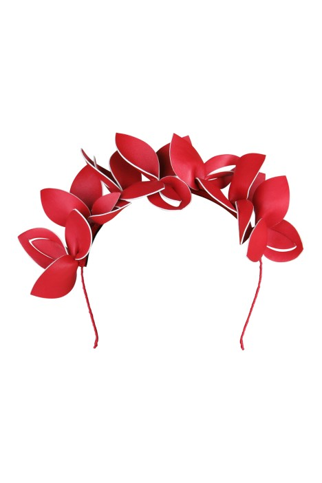 Morgan & Taylor - Lavina Fascinator - Red - Front