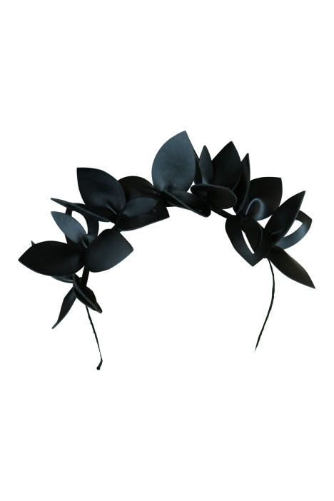 Morgan & Taylor - Lavina Fascinator - Black - Front