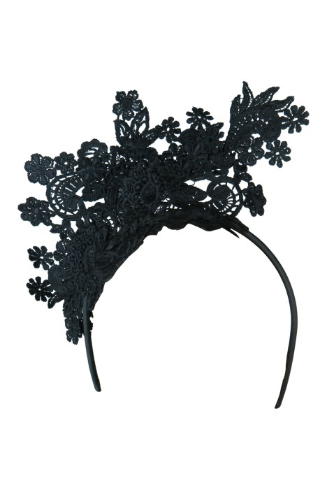 Morgan & Taylor - Leandrea Fascinator - Black - Front