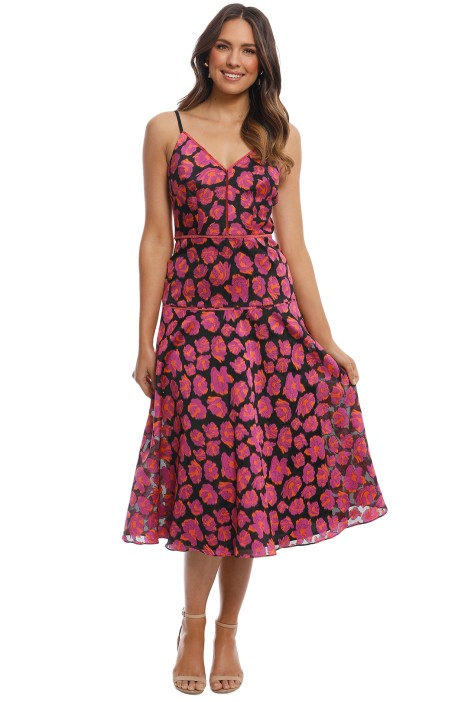 Moss and Spy - Lysander Dress - Pink Multi - Front