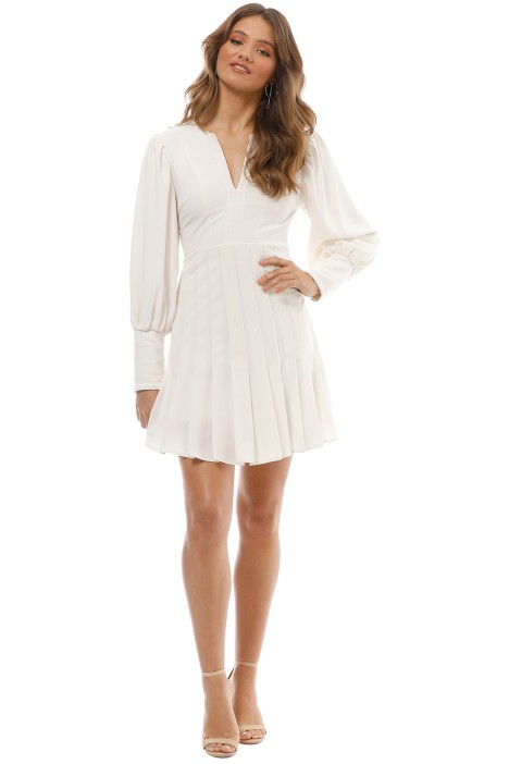 Mossman - The Over Exposed Dress - White - Front