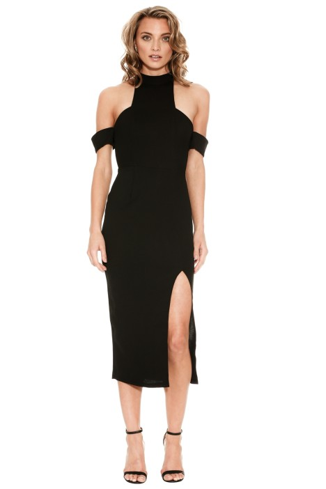 Mossman - The Ring of Fire Dress - Black - Front