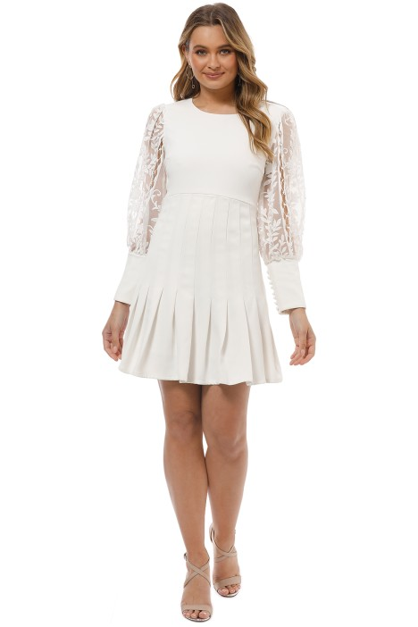 Mossman - The Quiet Riot Dress - White - Front