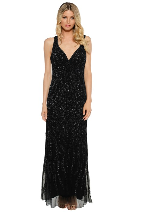 Mr K - Priscilla Beaded Gown - Front
