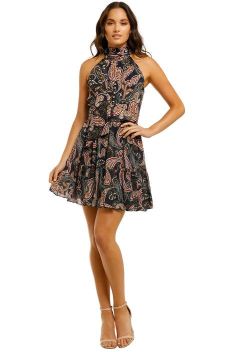 Nicholas-Selima-Dress-Midnight-Front