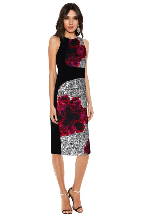 Nicola Finetti - Curved Seam Dress - Enzyme Black - Front