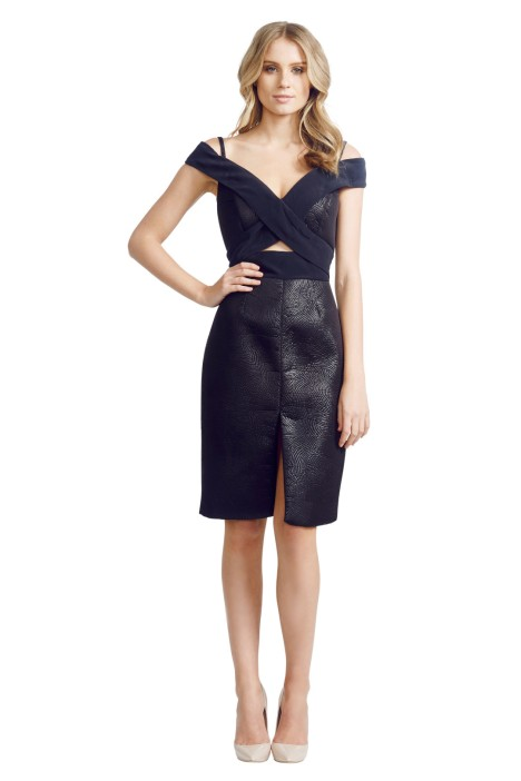 Nicola Finetti - Origami Dress - Front - Black