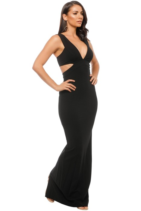 Carlessa Cut Out Gown by Nicole Miller for Rent