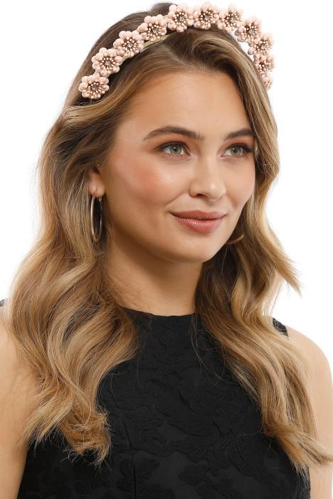 Olga Berg - Amara Headband - Blush - Product