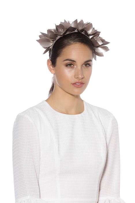 Olga Berg - Jess Headband - Pewter