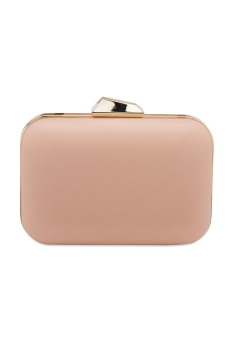 Olga Berg - Khloe Rounded Rectangle Pod - Pink - Front