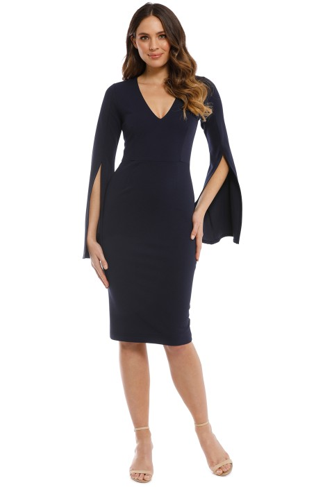 Pasduchas - Amaryllis Midi Dress - Anchor - Front