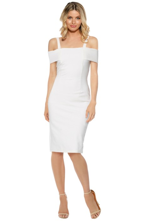 Pasduchas - Angelina Midi Dress - Ivory - Front