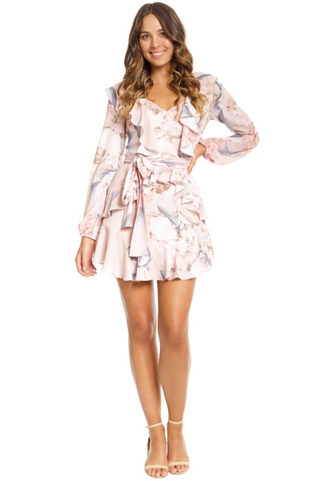 Pasduchas - Clementine Flip Dress - Blush - Front