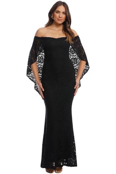 Pasduchas - Flourish Gown - Black - Front