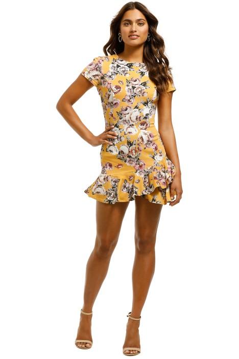 Pasduchas - Havana Flip Dress - Marigold - Front