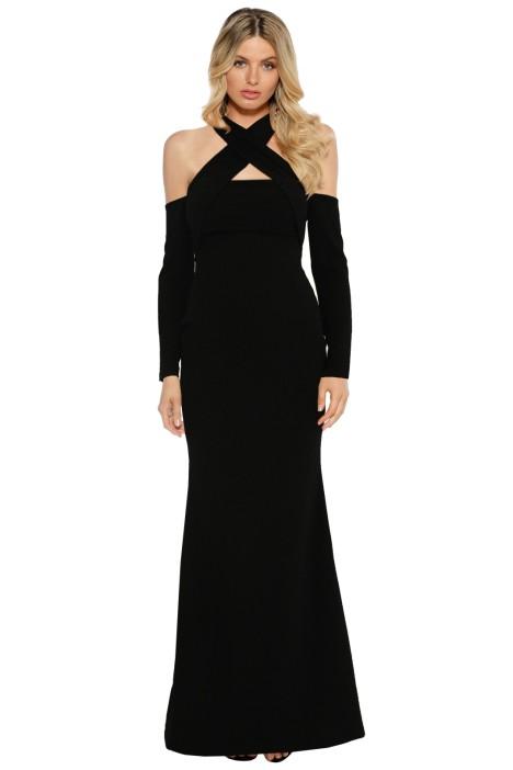 Pasduchas - Lyric L/S Gown - Black - Front