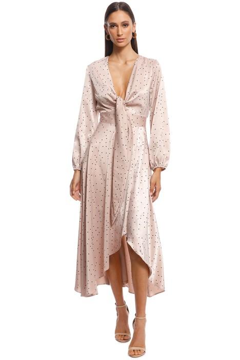 Pasduchas - Promise Midi Dress - Pink - Front