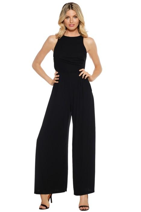 Pasduchas - Queen Bee Pantsuit - Black - Front