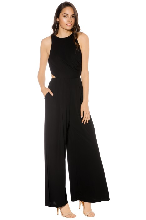 Pasduchas - Queen Bee Pantsuit - Black - Front