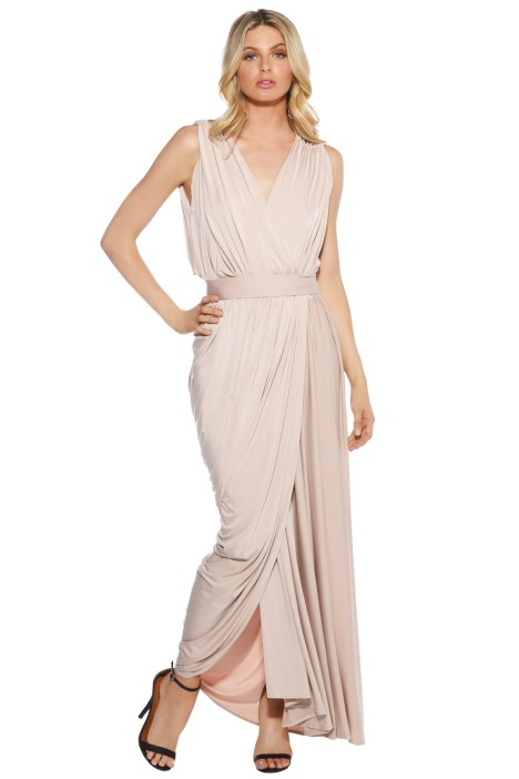 Pia Gladys Perey - Teresa Dress - Nude - Front