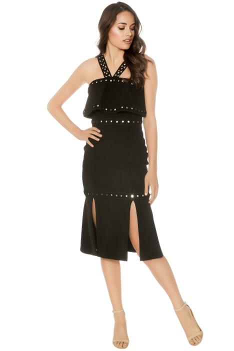Premonition - Moonlight Cocktail Dress - Black - Front