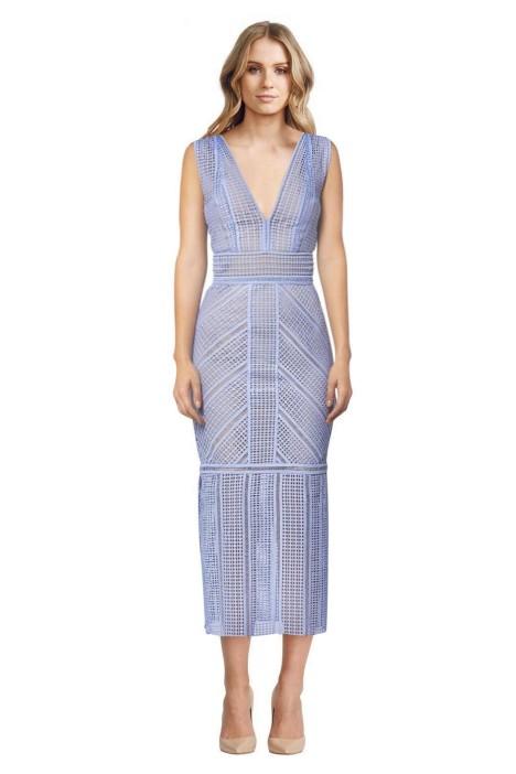 Rachel Gilbert - Daysi Maxi Dress - Chalk Blue - Front
