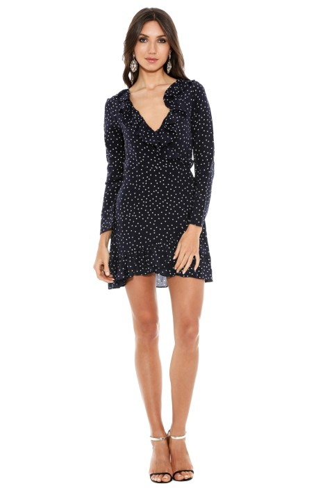 Realisation - Diane Dress - Navy Star - Front