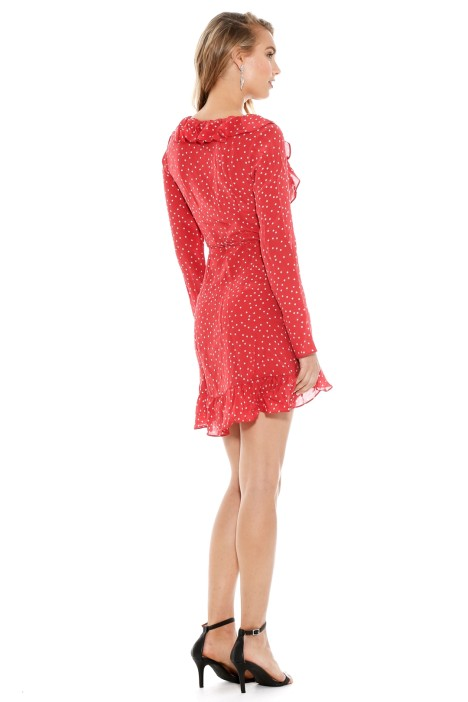 7c8525b941d Diane Dress in Red Star by Realisation for Hire