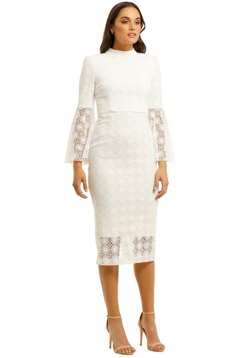 Mireya Flare Sleeve Dress By Rebecca Vallance For Rent