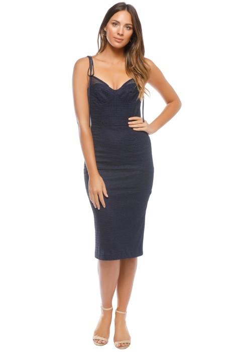 Rebecca Vallance - Avignon Dress - Blue - Front