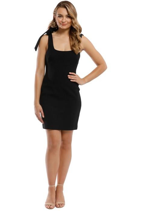Rebecca Vallance - Dahlia Mini Dress - Black - Front