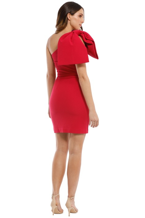 a5ff70757d73 Hamptons Mini Bow Dress in Barberry by Rebecca Vallance for Rent