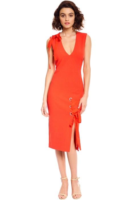 Rebecca Vallance - Martinique Dress - Orange - Front