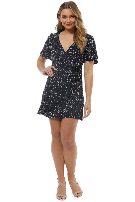 Rebecca Vallance - Flores Wrap Dress - Front